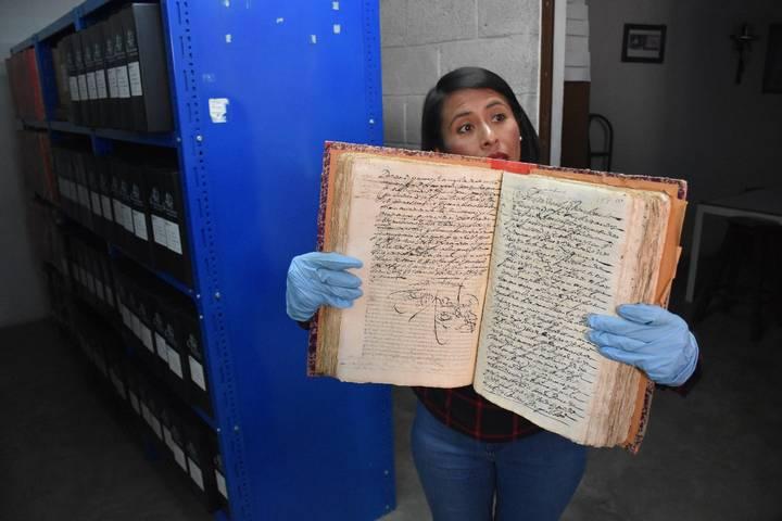 Biblioteca Antigua,</br>Archivo Histórico de Tlaxcala